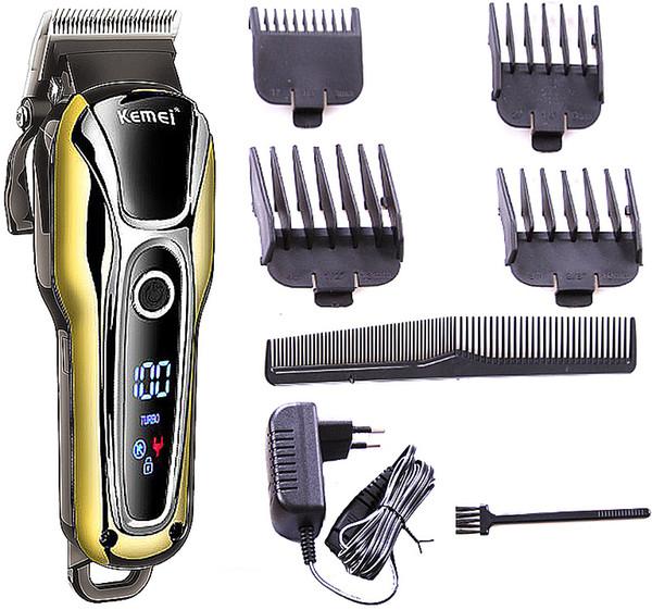 20 w Turboşarj Berber saç kesme profesyonel saç düzeltici erkekler elektrikli kesici kesme makinası saç kesimi aracı 110 v-240 v