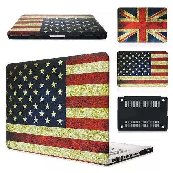 USA UK Flag Hülle für MacBook 12 Zoll Air 11 13 Zoll Pro 13 15 Zoll und mit Retina
