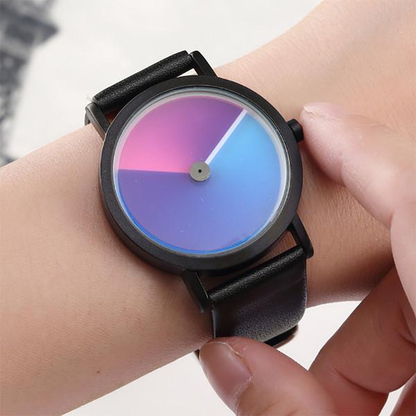 Unique Minimalist Creative Watch Geek Swirl New Fashion Design Brand Luxury Wrist Watch For Men Women Simple Quartz Lovers Watch Y1892107