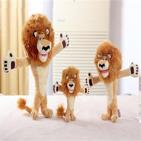 2018 New arrival ALEX Madagascar lion plush dolls 26cm plush toys stuffed animals Super cute pendant best gift for the kids