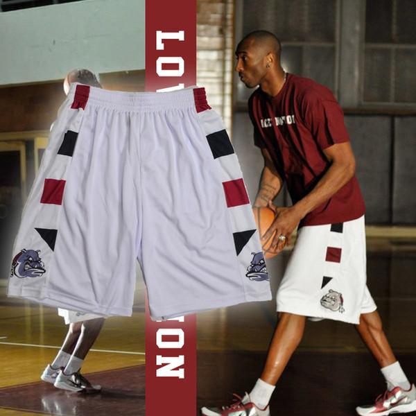 top popular LOWER MERION Sweatpants Kobe Bryant High School Basketball Shorts Sports Basketball Training ACES NATION, Free Shipping. 2019