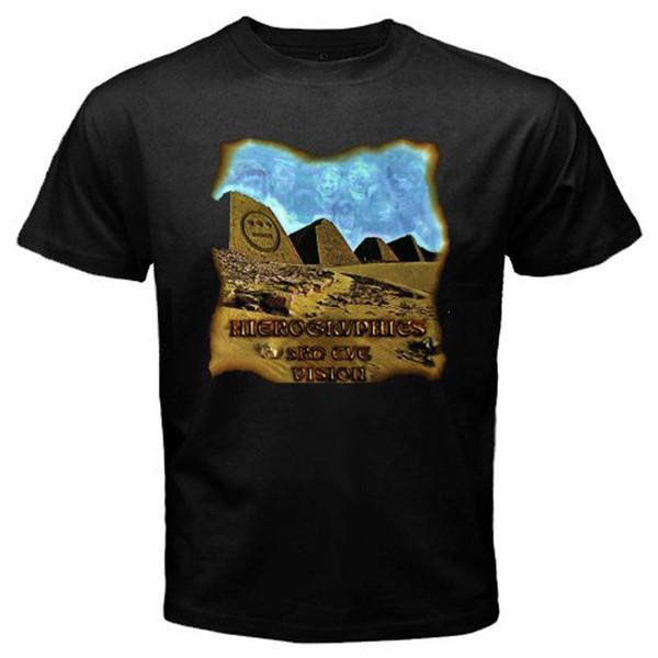 2018 Short Sleeve Cotton T Shirts Man Clothing New Hieroglyphics 3Rd Eye Vision Rap Hip Hop Men's Black T-Shirt Size S To