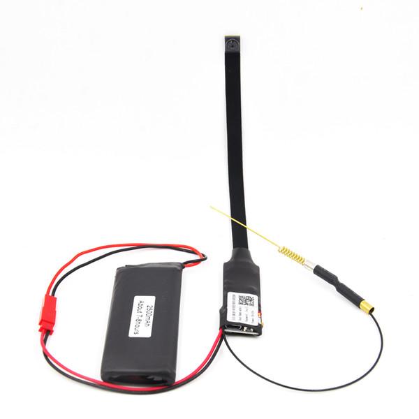 1080p hd mini wifi ip kamera, 90 grad 5,0 mp mini motion action kamera mit audio monitor und signal antenne unterstützung android ios ipad pc