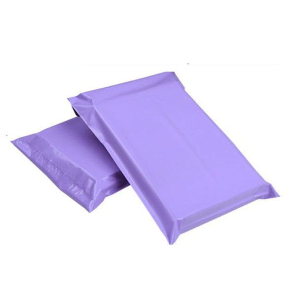 4 sizes 100Pcs Pink Self-seal Adhesive Poly Mailer Bag Plastic Postal Mailing Bag Mailer plasti Packaging Envelope Courier bags