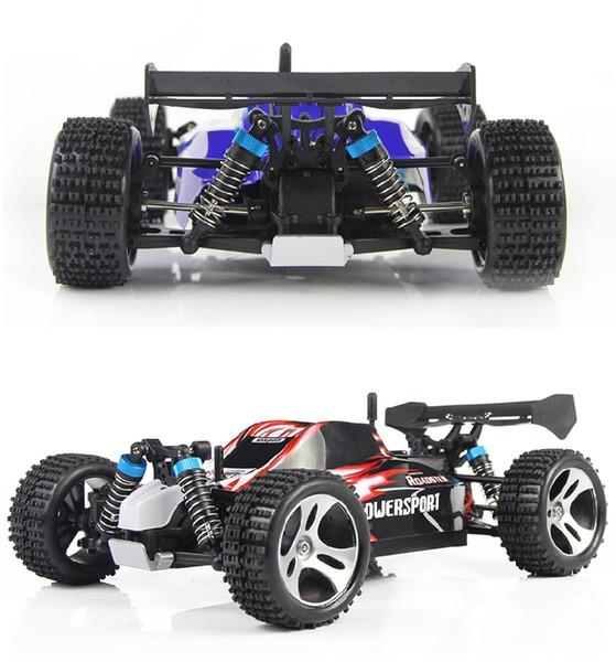 Nouveau design voiture WLtoys A959 voiture télécommandée 2 Avec 40 4wd .4 GHz -60 km / h haute vitesse rc électrique voiture jouet cadeau pour garçon