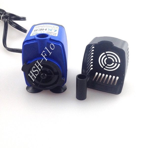 110V-220V 50-60HZ Small Submersible Water Pump for Fish Tank Pond Fountain 750L/H Flow Max With USA Plug