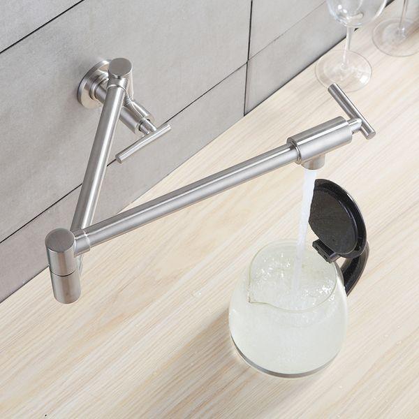 Großhandel Flg Flexible Küchenarmatur Wand Montiert Einhand 304 ...