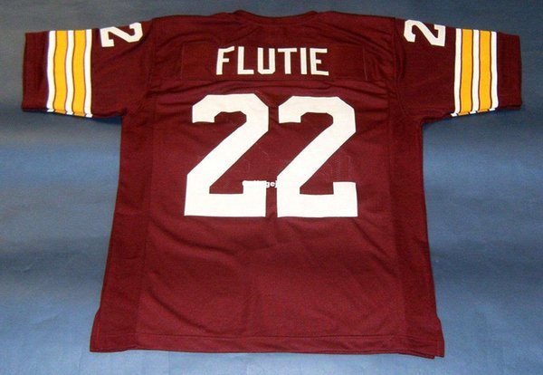 sale retailer ce563 d25be 2018 Cheap Retro #22 DOUG FLUTIE CUSTOM BOSTON COLLEGE EAGLES JERSEY BC  HEISMAN Wine Red Mens Stitching Size S 5XL Football Jerseys From ...