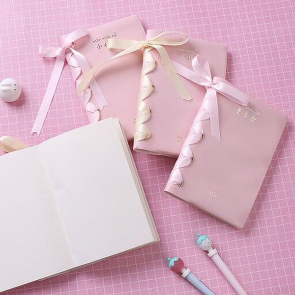 Kawaii bonito Dos Desenhos Animados Caderno de Fadas Bonito Bonito Diário Diário Planejador Notepad Para O Presente Dos Miúdos Coreano Papelaria