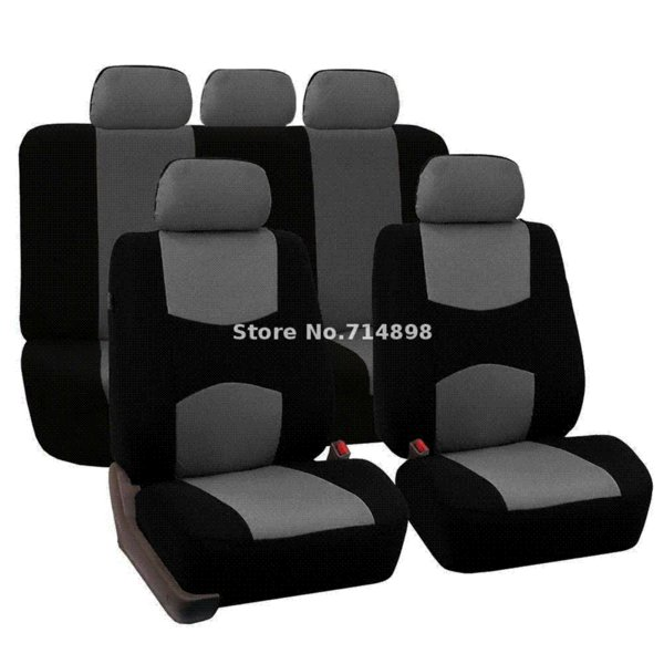 Marvelous Carnong Car Seat Cover Universal Jersey Fabric Full Set Light Weight Car Interior Accessory Rear Seat Not Detach Auto Seat Cover Replacement Auto Seat Pabps2019 Chair Design Images Pabps2019Com