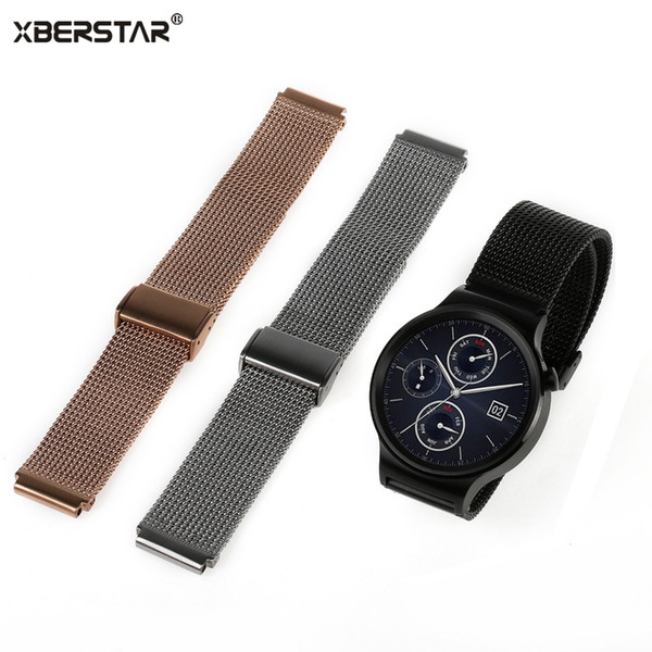 20mm Stainless Steel Smart Watchband Watch Strap for Huawei Metal Buckle Classic Watch Band Top Quality Wholesale Price