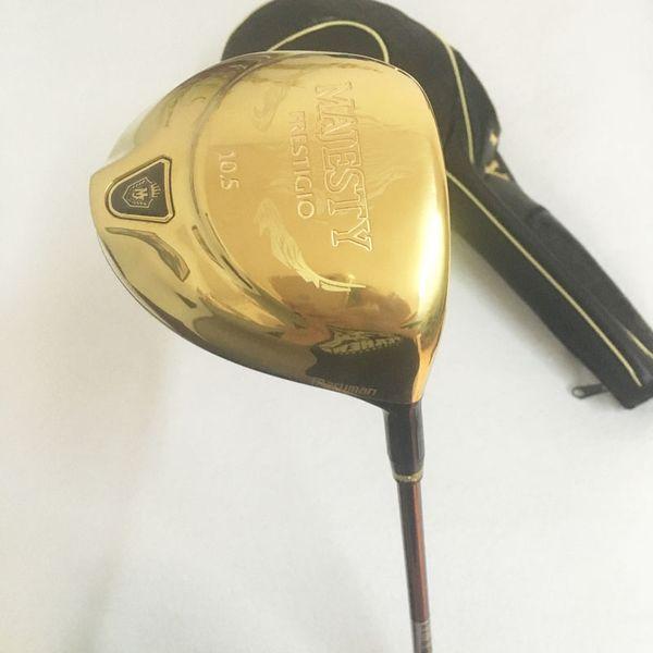 New Golf clubs Maruman Majesty Prestigio 9 Golf driver 9.5/10.5 loft Driver clubs Graphite Golf shaft R/S Free shipping