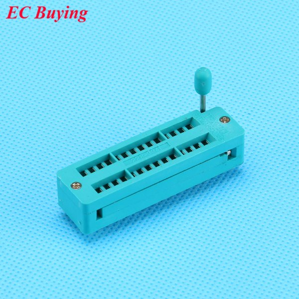 1PCS 28 Pins DIP Universal IC Socket 2.54mm ZIP Narrow Test Socket 28P