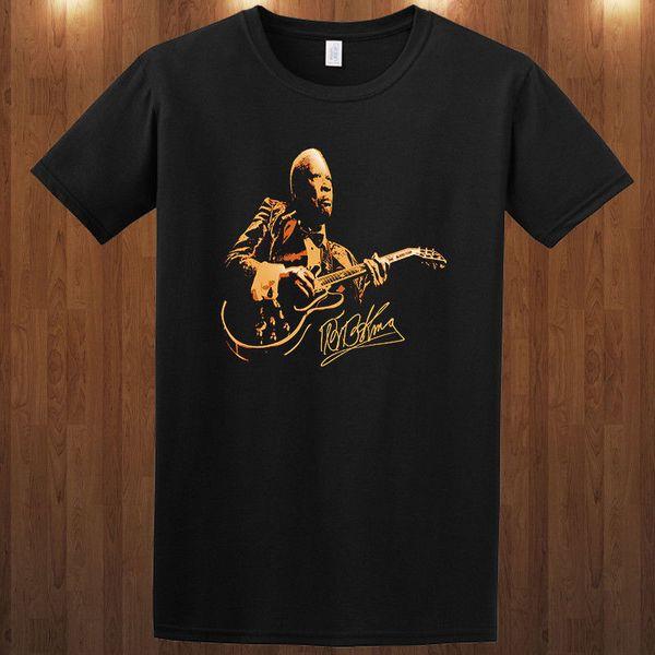Funny Slogan T Shirts Short Men B.B. King S M L Xl-4Xl O-Neck Christmas Shirt