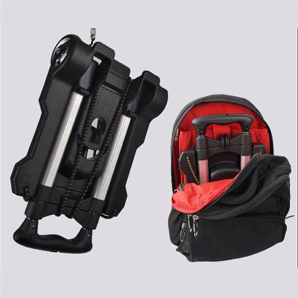 99a5dcf0a32a Simple Folding Hand Truck Shopping Grocery Portable Aluminium Foldable Cart  Flatbed Dolly Luggage Trolley With Elastic String Pocket Binoculars Best ...