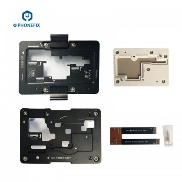 iSocket Mobile Phone Motherboard Repair Fixture for iPhone X Motherboard Test Repairing Tool Without Soldering
