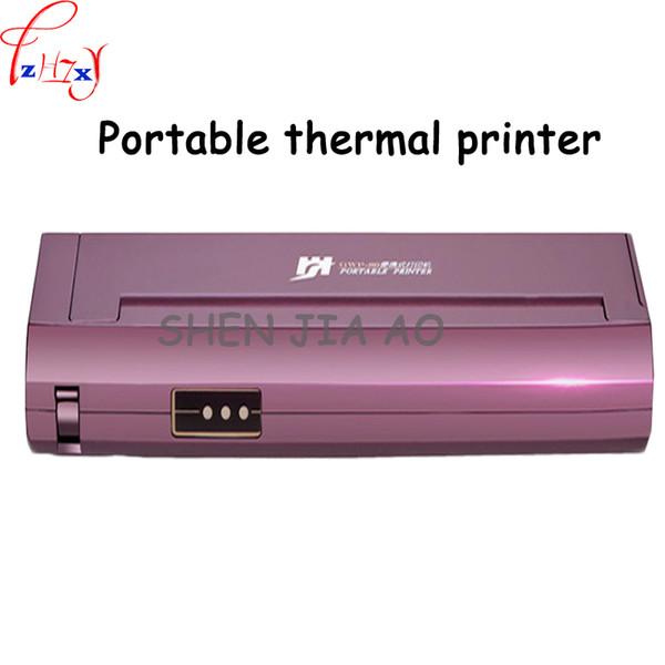Mini Portable Mini A4 Papier Imprimante Thermique Home Office Car Mobile Portable Noir Blanc Imprimante Thermique 20 V 1 PC