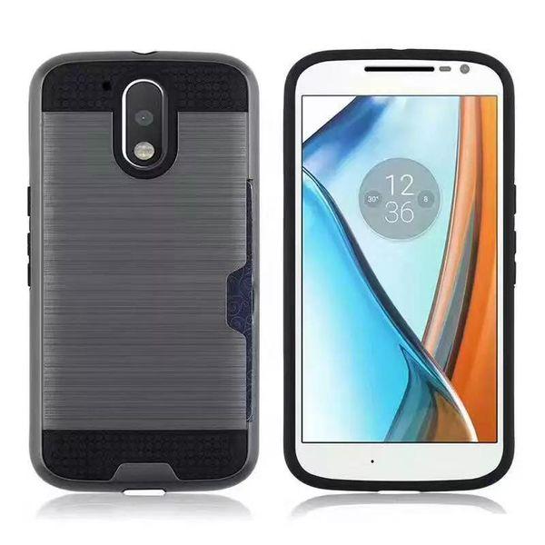 Pour LG Stylo 3 Aristo 2 X Power V10 V20 V30 K8 2017 LV7 X5 Q6 Q8 Q7 Carte Couverture de téléphone de poche Coque hybride anti-poussière et TPU
