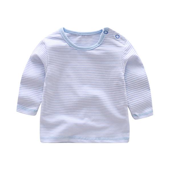 2760708b6 Moda primavera otoño bebé niños niñas camiseta de rayas top + estrella de cinco  puntas overoles de mezclilla + sombrero 3 pcs