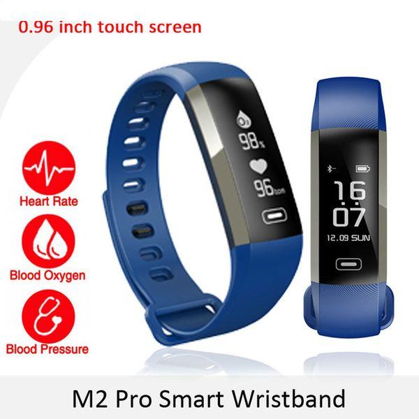 50X M2 Pro Smart Wristband Fitness Tracker Bracelets Heart Rate Blood Pressure Watch Pulse Meter Oxygen Waterproof SMS Call Sport Band