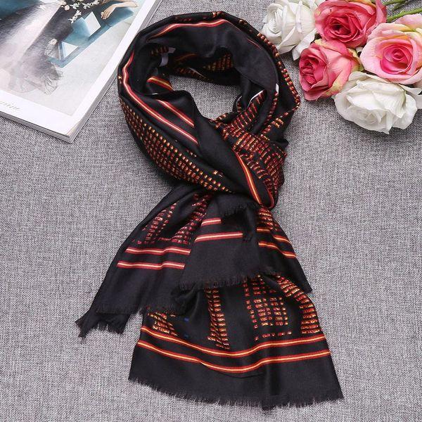 Großhandel Schals Langen Druck Mode Weichen Wraps Wolle Mischung Frauen Schal Von Tonic, $35.84 Auf De.Dhgate.Com   Dhgate