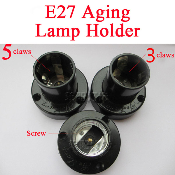 E27 Aging Lamp Holder (3 Claws)