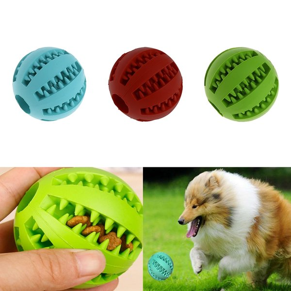 perro juguetes no tóxico mordida pelota de resistente para mascotas comida