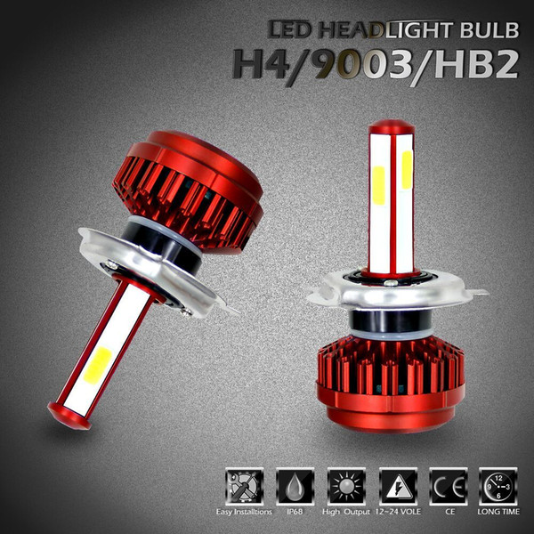 R7 H4/9003/Hb2 6000k 4 Side Led Headlight Car Super White Light Lamp Bulbs  Lighted Paper Lanterns Tea Light Lanterns From Shinyday, $34 93| Dhgate Com