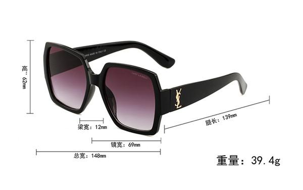 55931 óculos de sol das mulheres novas óculos de sol preto oversized quadro óculos de sol das mulheres