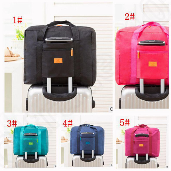 Travel Luggage Bag Foldable Travel Storage Luggage Carry-on Organizer Hand  Shoulder Duffle Bags Folding Holder Handbag Tote 14471b4174