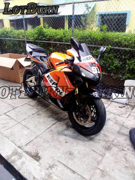 Moto Injection Molding Motorcycle Fairing Kit Fit For Honda CBR600RR CBR600 CBR 600 RR F5 2005 2006 05 06 Bodywork Fairings Custom Made 03