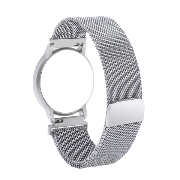 Bemorcabo 18mm Wrist Watch Band Bracelet for Huawei Watch,Magnetic Lock Mesh Closure Strap for Withings Activite /Steel/Pop
