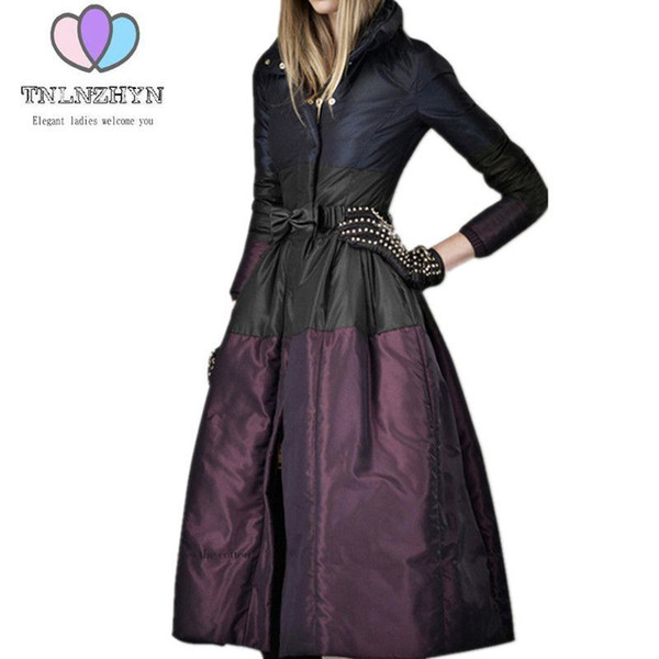 2018 New Fashion High-end Womens Winter Jacket Coats Plus size Warm Down Jacket  Thicken dc82eb1ef