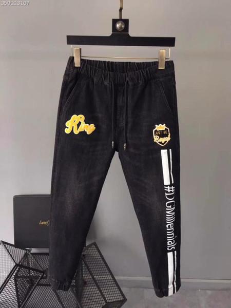 WE09693BH Fashion Men's Jeans 2018 Runway Luxury Brand European Design party style Men's Clothing