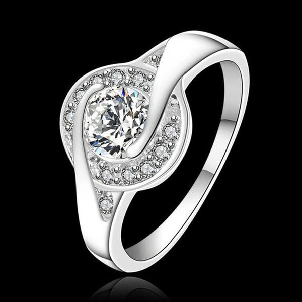venta total Anillo de plata chapado en plata esterlina anillo de joyería precios de fábrica con incrustaciones de piedra Cat Eye / LTHTJSJZ TIEPXOQV