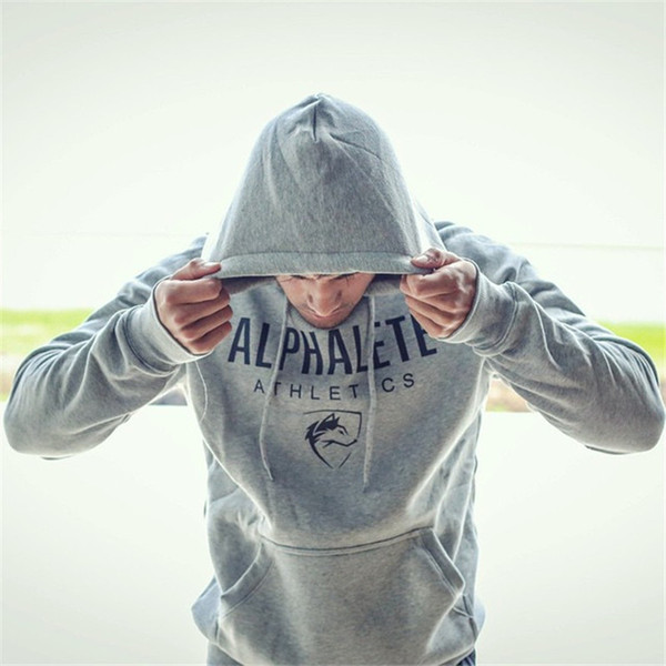 2017 Gyms Hoodie Clothes Bodybuilding Sweatshirt Warm Clothing conventional Cotton Sweatshirts Cheap Pullover