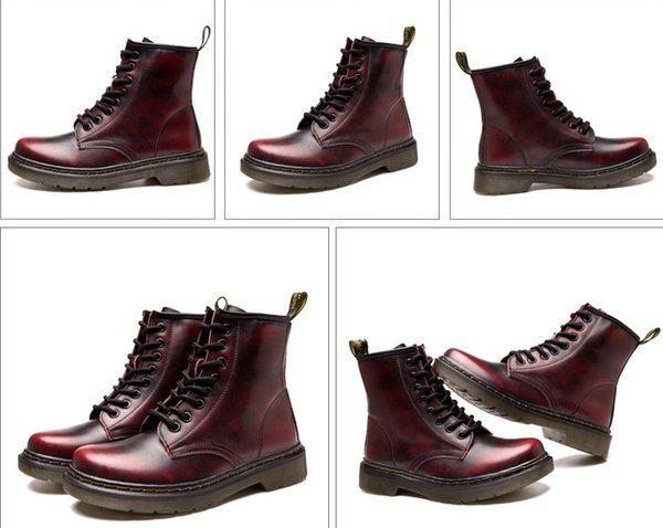 Women Martin Boots Outdoor Working Men Sports Shoes High Quality Genuine leather Autumn Men Winter Ankle Boots