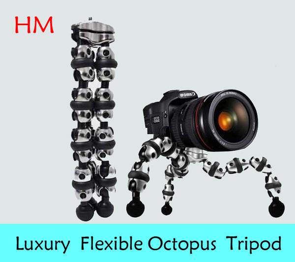 Flexible kompakte Octopus Stativ Kamera Stativ 1/4 Professional Stativ für DV Video Digitalkamera DSLR Camcorder Makro