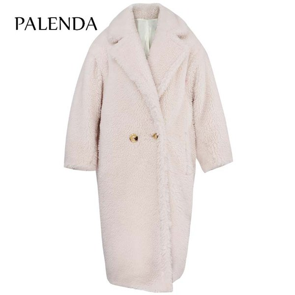 2018 new women winter warm coat faux fur long hair design warm protected female long fur coat fluffy 3 colors S-XL size