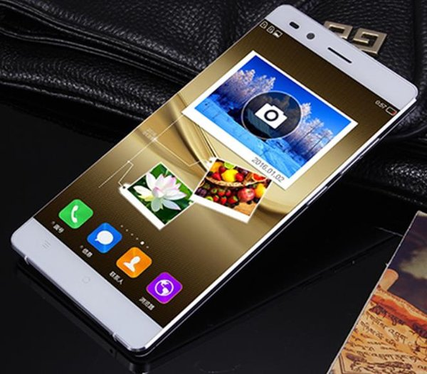 New ultra-low-cost full Netcom, mobile 4G dual card dual standby 5 inch large screen, eight nuclear metal fashion smart phone