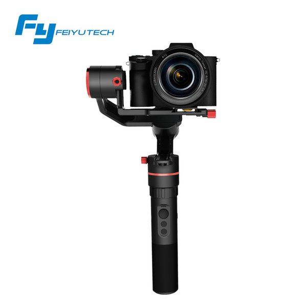 FeiyuTech a1000 3 Axis Gimbal Stabilizer Handheld for NIKON SONY CANON Mirrorle Camera  Action Cam Smartphone 1.7kg Payload