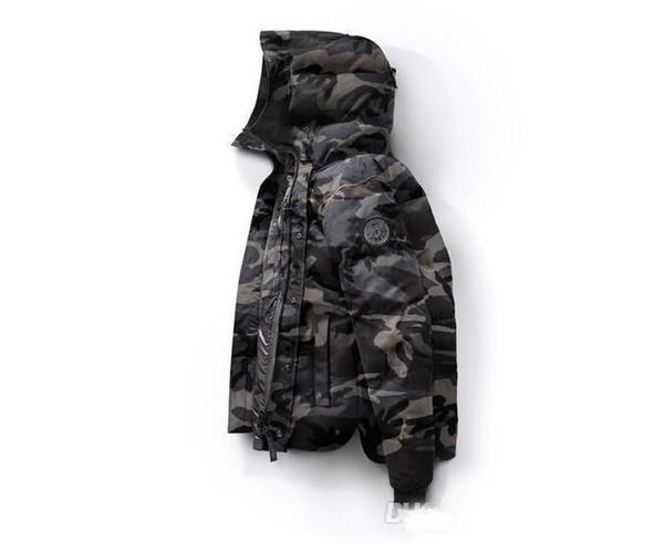 2018 New Kanada Winter Down Parka Macmillans Männer Marke Designer Hoodies Mann Parkas Jacken Warme Outwear Herren Outdoor Coole Mäntel Hohe qualität