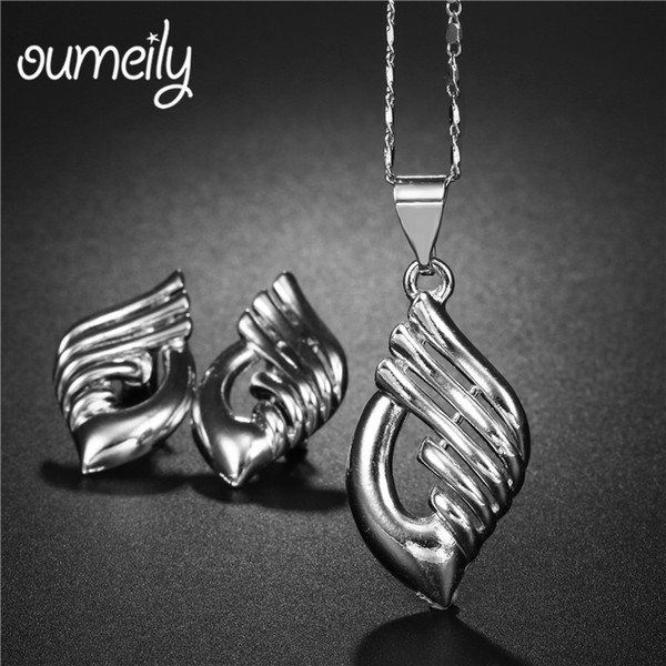 OUMEILY African Beads Jewelry Set Silver Gold Color Bridal Wedding Jewelry Sets For Women Bridesmaid Turkish Ethiopian Jewellery