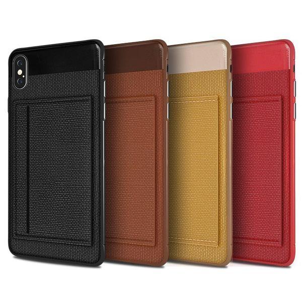 Funda de lujo para el teléfono celular de cuero para Iphone XS max Xr x 6S 7 8 PLUS soporte de tarjeta de crédito para soporte de pie para SAMSUNG NOTE 8 9 S8 S9 S10 PLUS