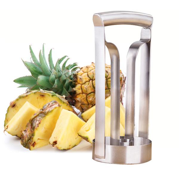 Stainless Steel Fruit Pineapple Slicer Peeler Pineapple Cutter Kitchen Fruit Tool