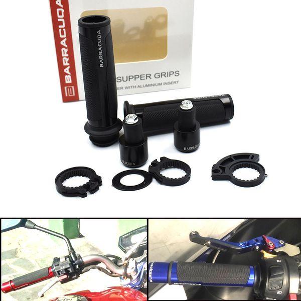 For 22 / 24mm Motorcycle Pit Bike Coffee Handle With Motorcycle Grip Handlebar Hand Grips For yamaha xmax bmw gs 125 suzuki drz 400 z1000sx