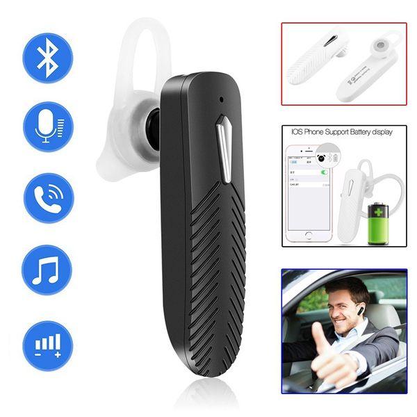E06 oreillette bluetooth stéréo musique casque sans fil casque antibruit affaires pour iphone xiaomi tous les téléphones mobiles avec mic auricul