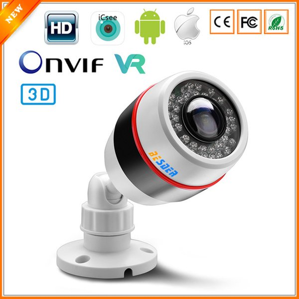180 Wide Angle Panoramic IP Camera 48V PoE Outdoor Waterproof 2.0 MP 1080P 1.7MM Lens Motion Detect RTSP HI3516C CCTV Camera