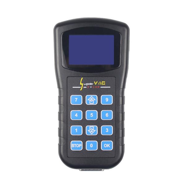 Super VAG K+CAN 4.8 Odometer Correction Tool Airbag Reset Tool Key Programmer Diagnostic Tool For AUDI VW Skoda
