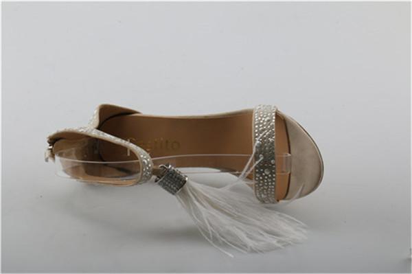 wholesale Girls Tassel Embellished Thin High Heels Dress Shoes For Ladies  Luxury Rhinestone Gladiator Sandals Woman Cover Heels 0b173713f8fd